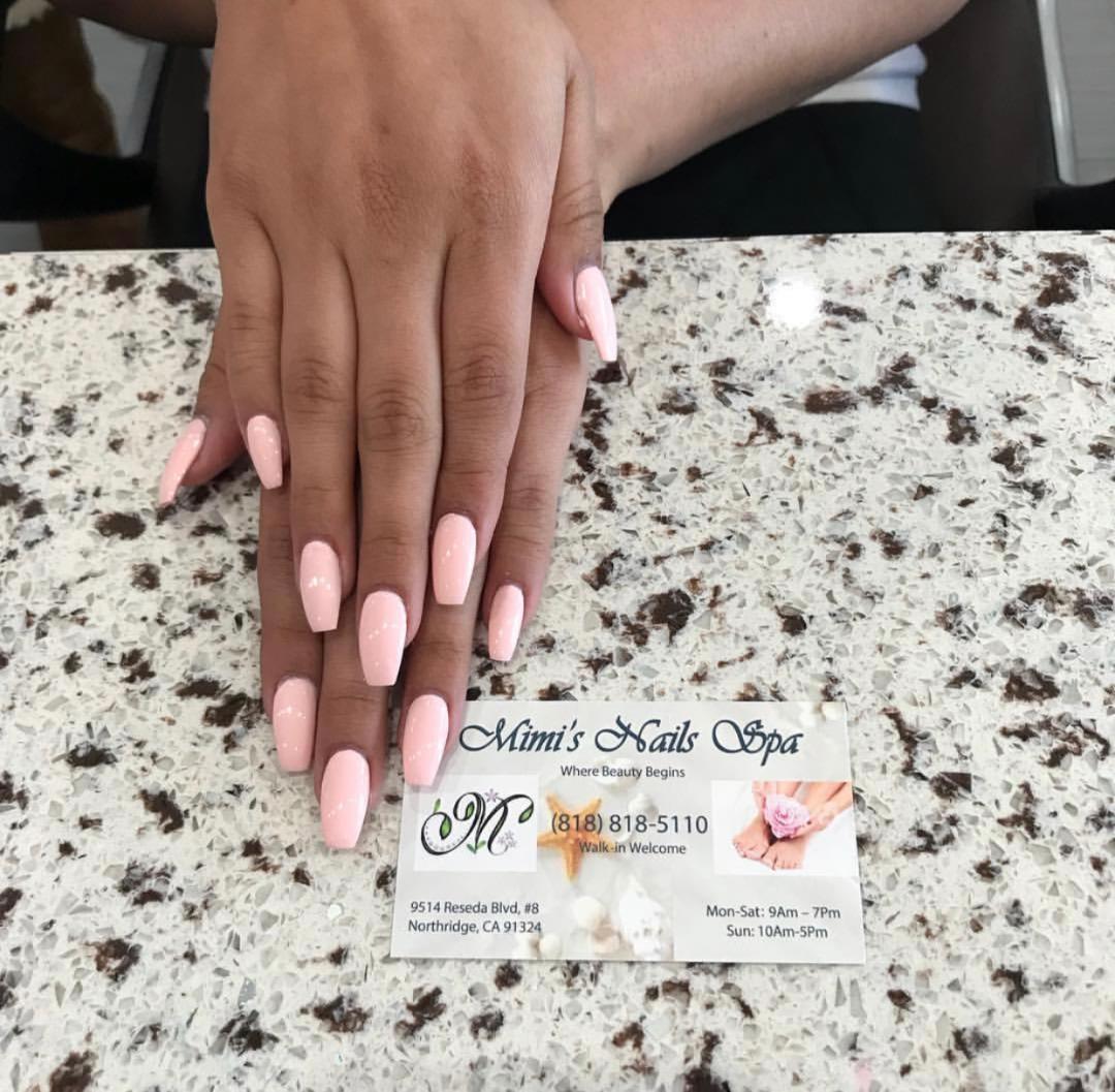 Mimis Nail Spa Professional Nail Care Design Northridge